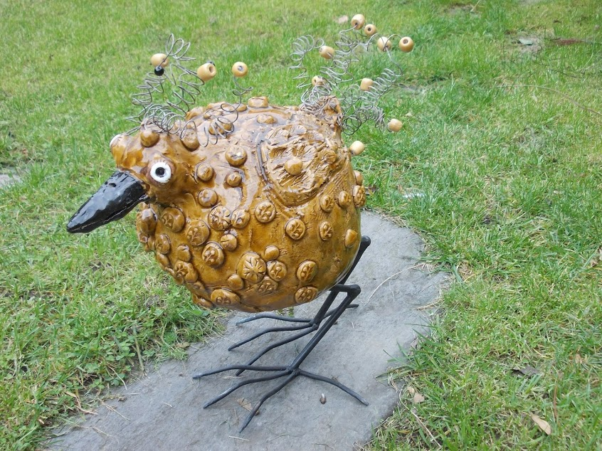 Pták loskuták na zahradu